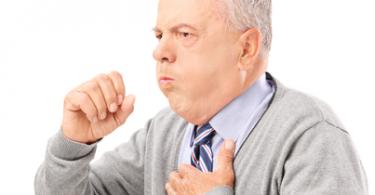 сухой приступообразный кашель
