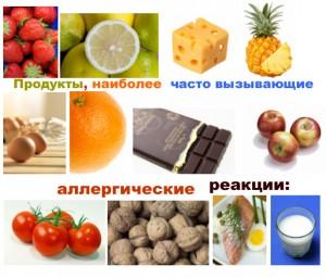 Продукты -аллергены