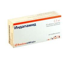 индапамид таблетки инструкция по применению