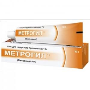 метрогил внутривенно