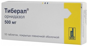 орнидазол лечение