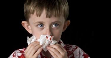 кровь из носа у ребенка причины