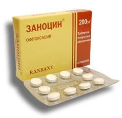 антибиотик заноцин