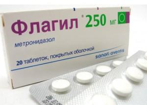 трихопол таблетки и флагил