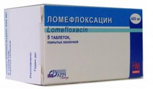 ломефлоксацин торговое название