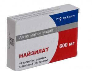 таблетки найзилат