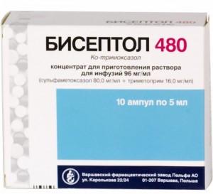 ко тримоксазол это антибиотик или нет