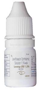 антибиотик левофлоксацин
