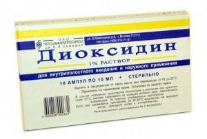 Диоксидин гель инструкция по применению