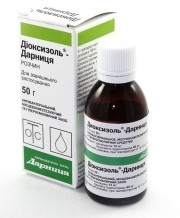 Диоксидин ампулы для волос
