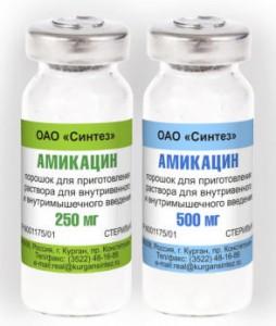 Амикацин инструкция по применению для детей как разводить