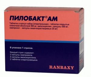 лекарство пилобакт ам