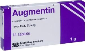 Ангина аугментин
