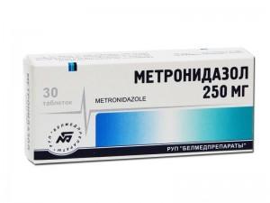 Маска от прыщей с метронидазолом