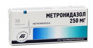 метронидазол от прыщей