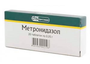 метронидазол во время месячных
