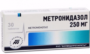 метронидазол инструкция по применению