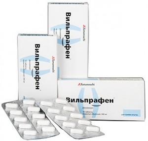 вильпрафен при уреаплазме дозировка