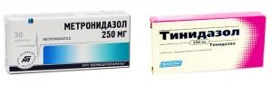 тинидазол метронидазол