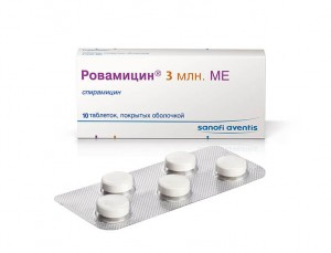 спирамицин веро инструкция