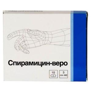 спирамицин веро инструкция по применению