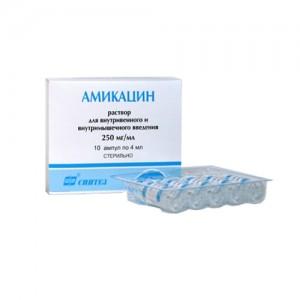 антибиотик амикацин