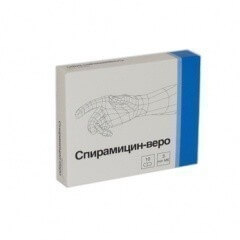 спирамицин веро