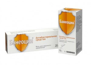 банеоцин от прыщей
