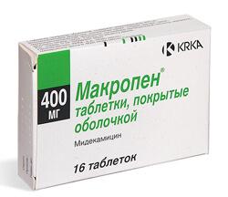 мидекамицин инструкция по применению