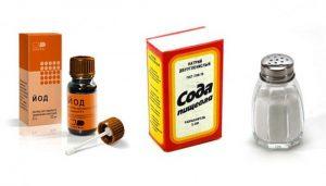 полоскание горла содой солью и йодом пропорции