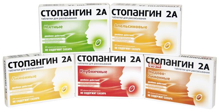 стопангин таблетки