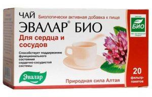 чай эвалар био для сердца и сосудов