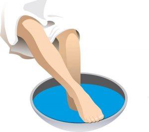 можно ли парить ноги ребенку при бронхите