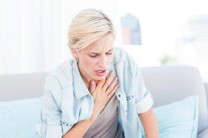одышка при приступе бронхиальной астмы