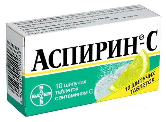 Ребенку от температуры аспирин