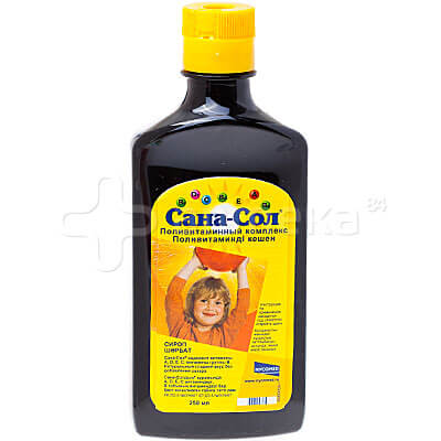 сана сол поливитаминный комплекс для детей