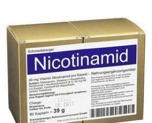 никотинамид формула