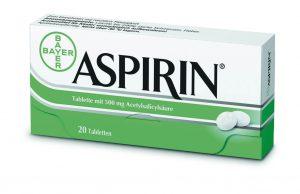 аспирин растворе
