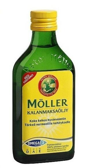 финский рыбий жир moller для детей
