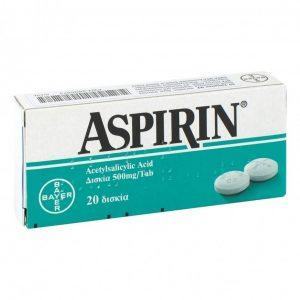 раствор аспирина воде