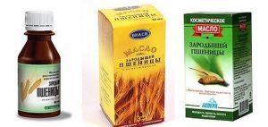 масло зародышей пшеницы касторовое масло