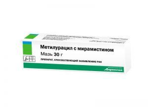 метилурацил с мирамистином