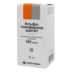альфа токоферола ацетат для лица