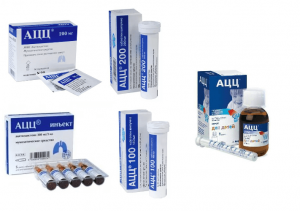 АЦЦ для детей инструкция по применению порошка, сиропа, таблеток
