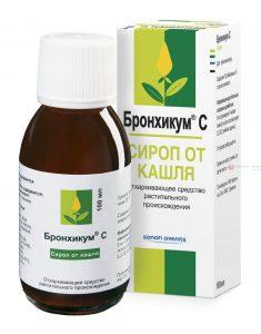 сироп от кашля гербион с подорожником