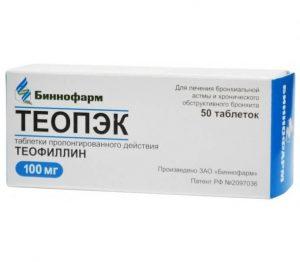 теофиллин эффекты