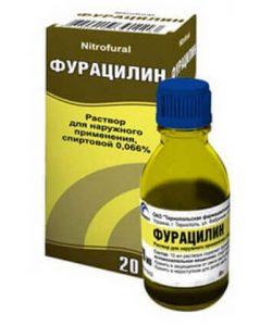 как промыть мочевой катетер фурацилином