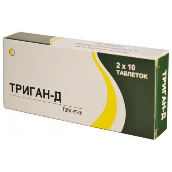 Триган д таблетки инструкция