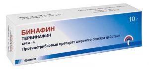 грибок бинафин