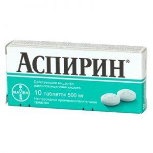 Фармакологические свойства аспирина